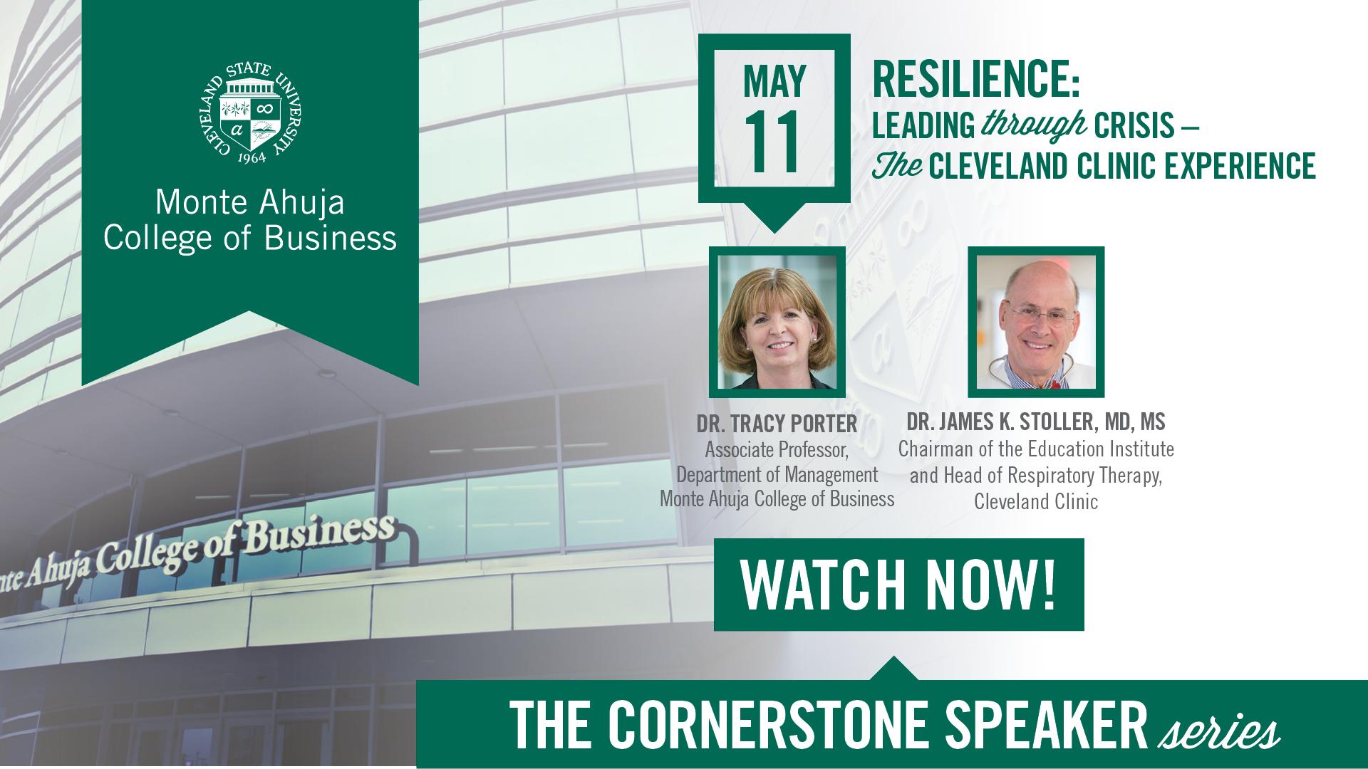 Cornerstone Speaker Series - May 2021