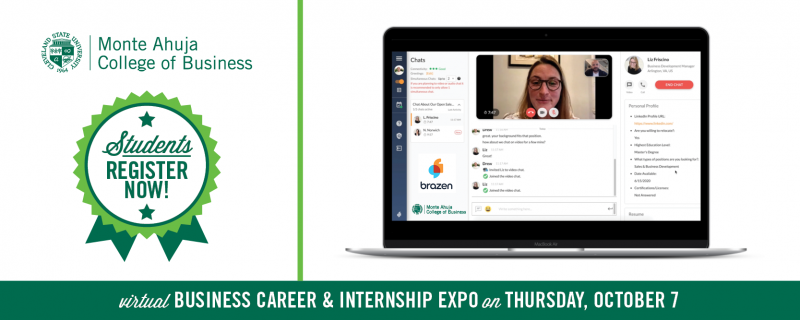 Business Career and Internship Expo October 7, 2021 - Students