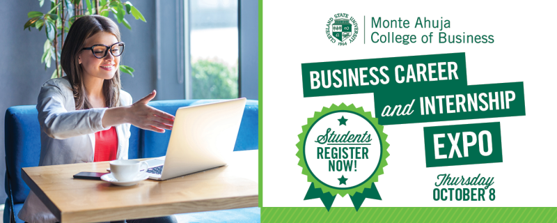 Students - Register for the Business Career and Internship Expo Fall 2020