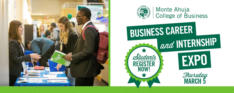 Spring 2020 Business Career and Internship Expo - March 5, 2020