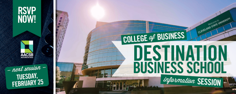 MBA and Graduate Business Programs Information Session February 25 2020