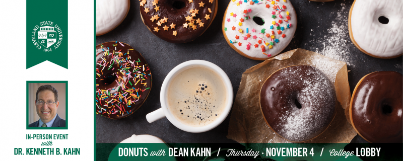 Donuts With Dean Kahn - November 2021
