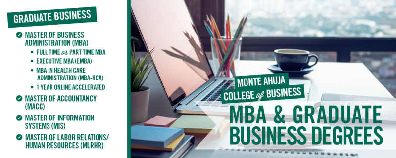 Graduate Business Degree Programs