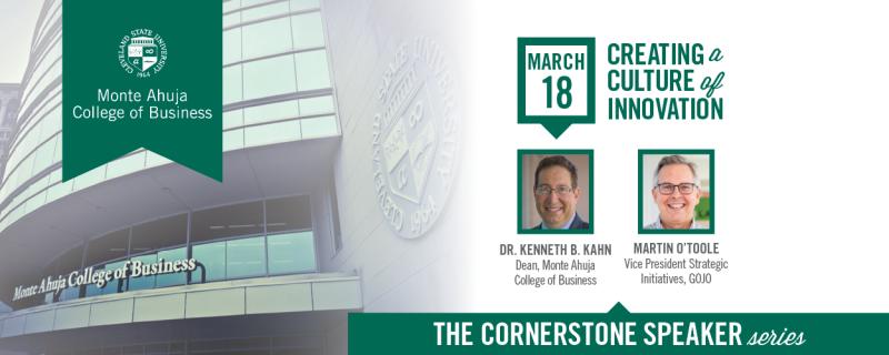 The Cornerstone Speaker Series - March 18th 2021