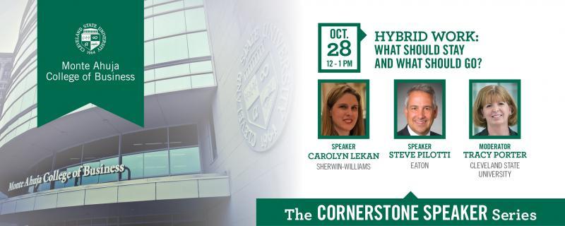 Cornerstone Speaker Series - October 2021