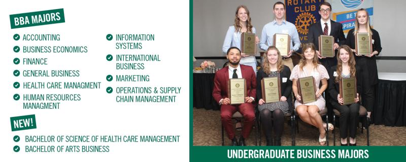 Business Undergraduate Majors