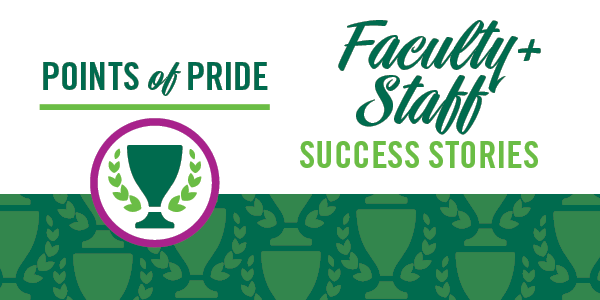 Faculty & Staff Success - Points of Pride