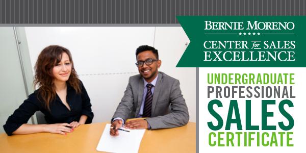 Sales Certificate in Professional Sales