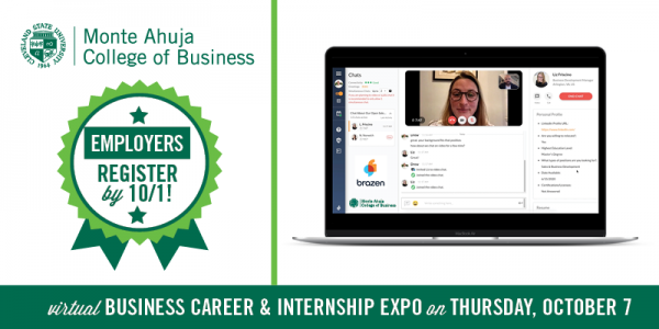 Employers - Register for the Business Career & Internship Expo By October 1st