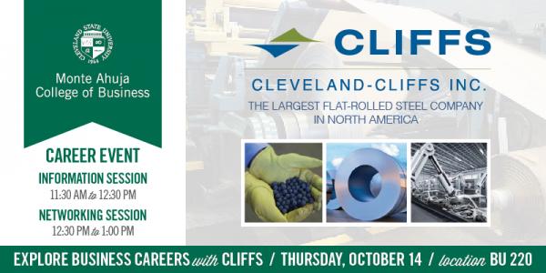 Cleveland-Cliffs Information Session on October 14, 2021
