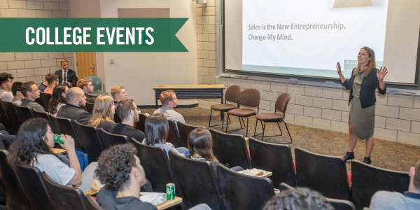 Monte Ahuja College of Business Events