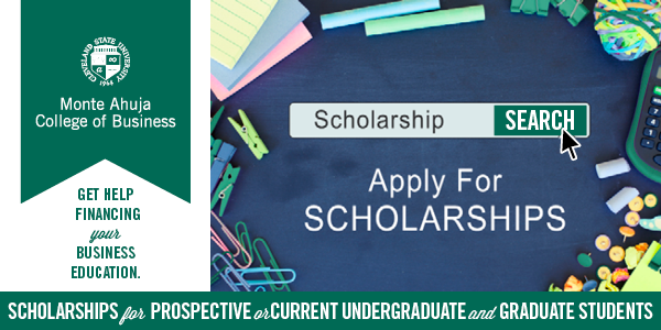 Apply For Monte Ahuja College of Business Scholarships