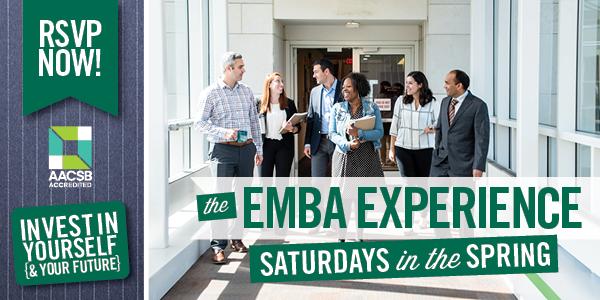 EMBA Experience - Saturdays in Spring 2020