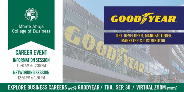 Goodyear Information Session - September 30, 2021