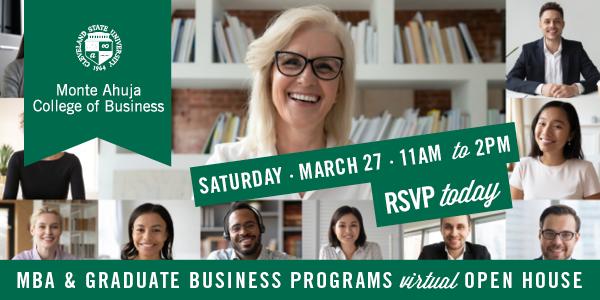 MBA & Graduate Business Programs Virtual Open House