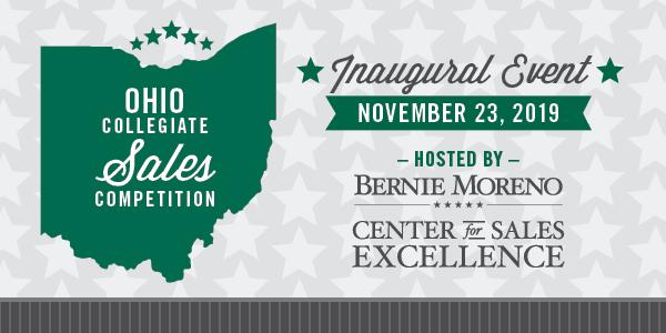 Ohio Collegiate Sales Competition - November 23, 2019