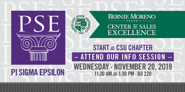 Pi Sigma Epsilon at CSU - November 20, 2019