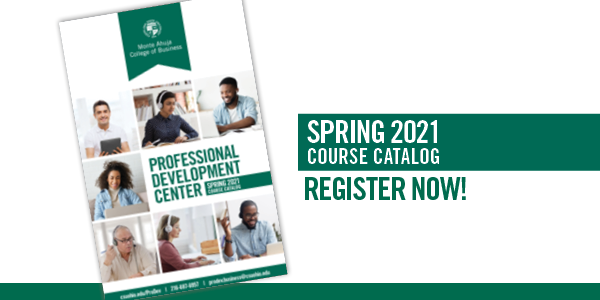 Professional Development Center Spring 2021 Catalog