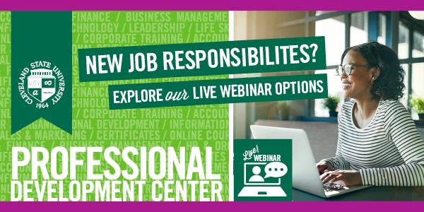 New Responsibilities - Live Webinar