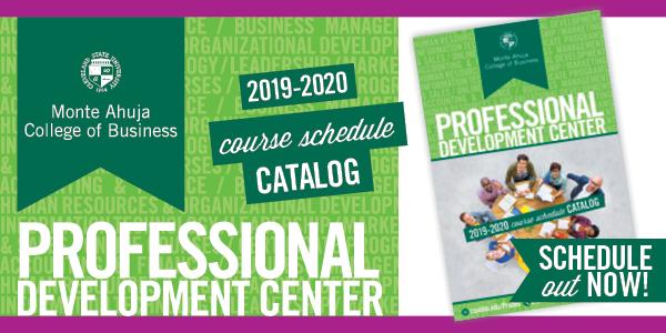 2019-2020 Professional Development Center Course Catalog