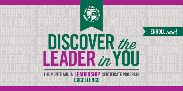 Monte Ahuja Leadership Excellence Certificate