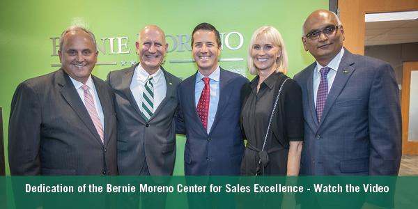 Bernie Moreno Center for Sales Excellence Dedication on September 19, 2019