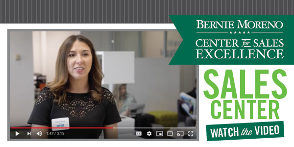 Learn How CSU Students Are Using the Bernie Moreno Center for Sales Excellence